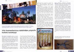 Hummerheimissa räätälöidään yrityslaulukirjoja